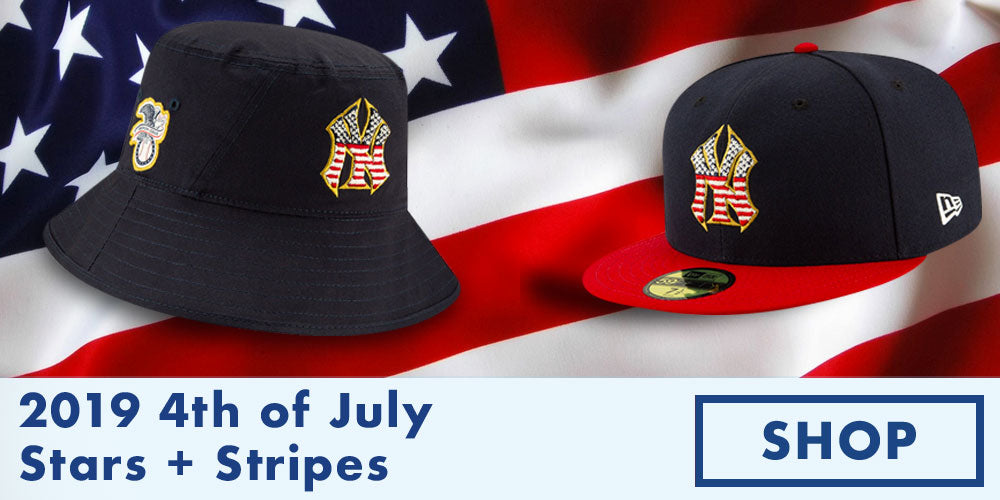 2019 Stars and Stripes 4th of July On-Field Headwear