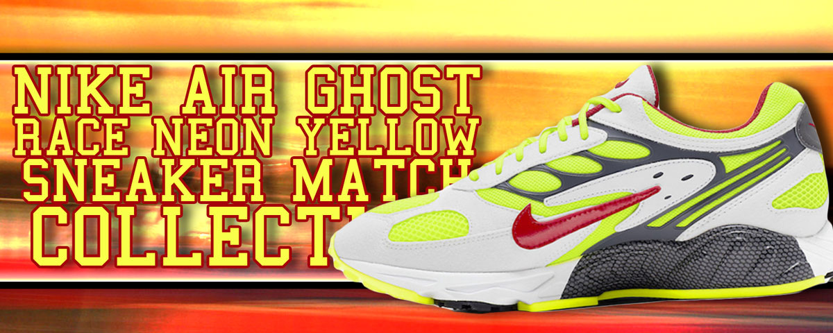 Nike Air Ghost Racer Neon Yellow Sneaker Match Collection