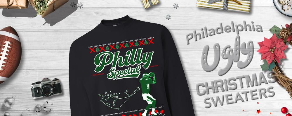 Philadelphia Ugly Christmas Sweaters
