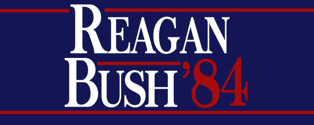 1984 Reagan Bush Campaign Clothing