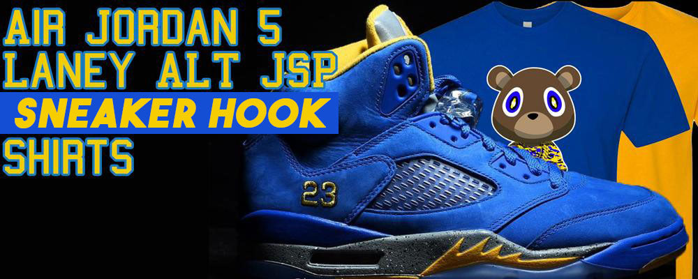 26f14909f146 Jordan 5 Alternate Laney JSP Sneaker Matching Tees – Tagged