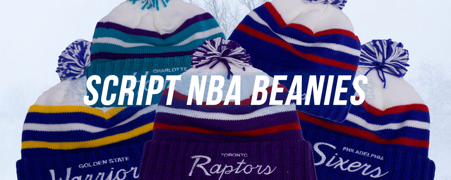 Mitchell and Ness NBA Special Script Beanies