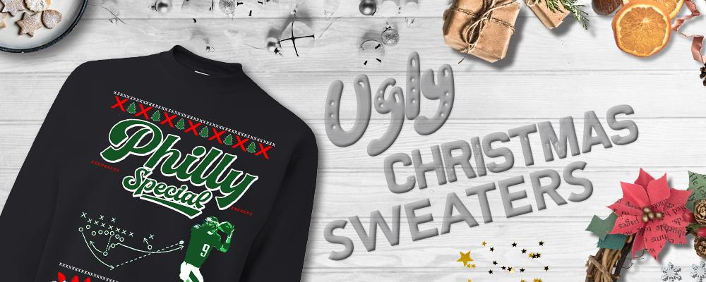 Ugly Christmas Sweater and Ugly Holiday Sweaters