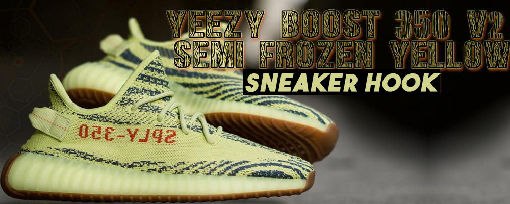 9e52b939f99ad Yeezy Boost 350 V2 Frozen Yellow Sneaker Matching Clothing – Tagged ...