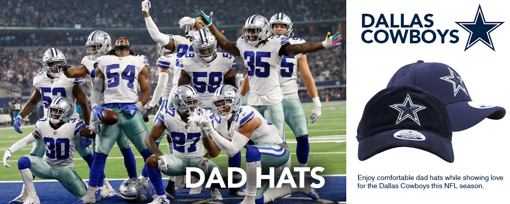 Dallas Cowboys Dad Hats
