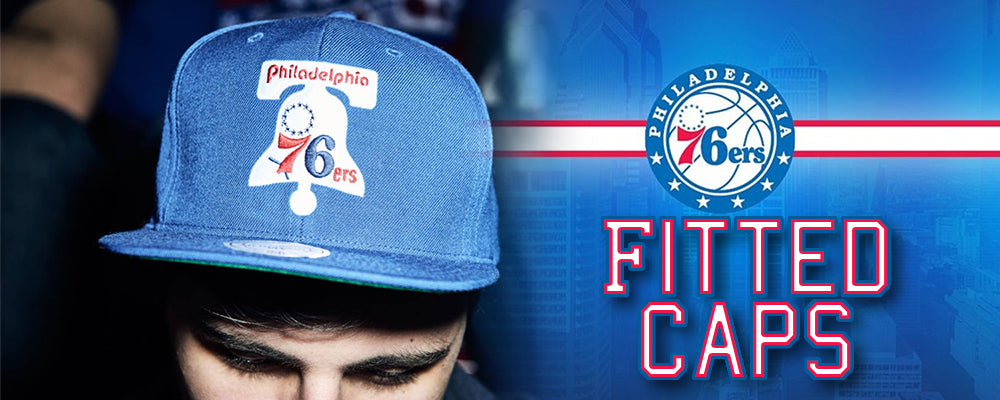 huge discount 2961e 4ee6b Philadelphia 76ers Fitted Caps