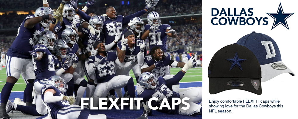 Dallas Cowboys Flexfit Caps