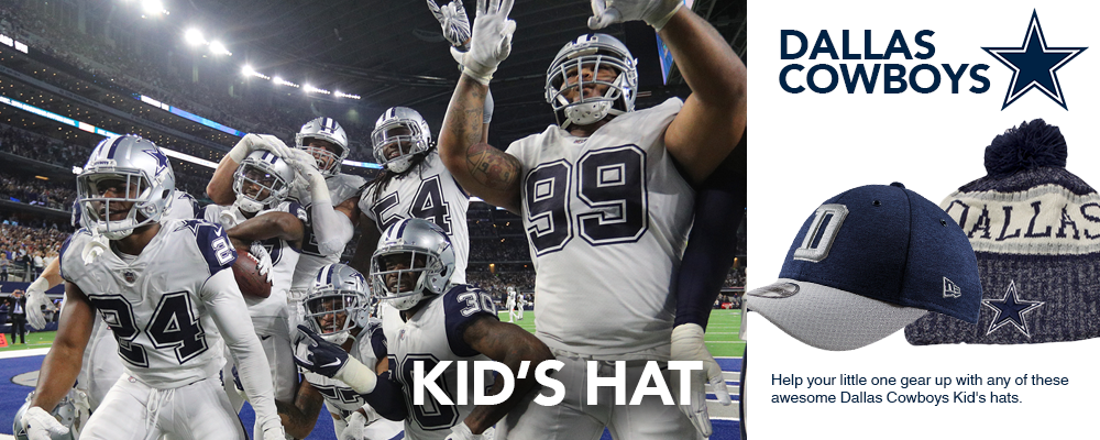 Dallas Cowboys Kid's Hats