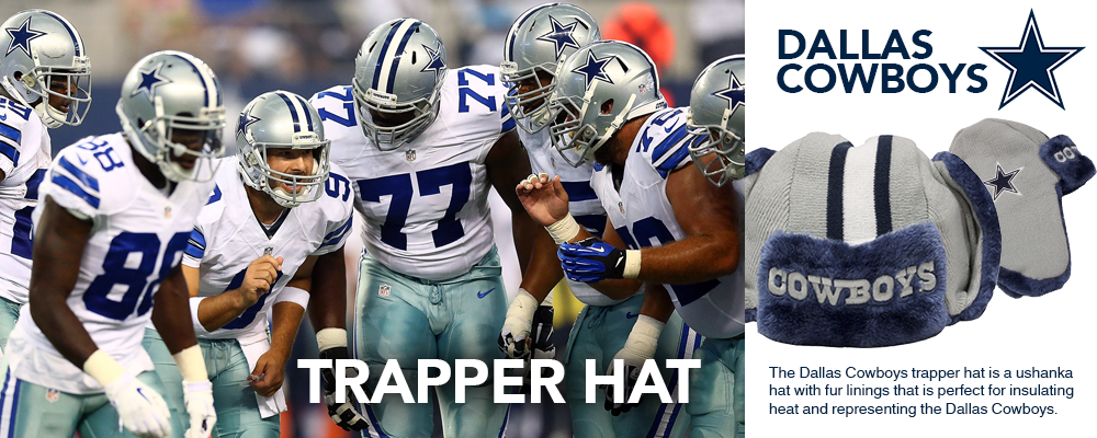 Dallas Cowboys Trapper Hats