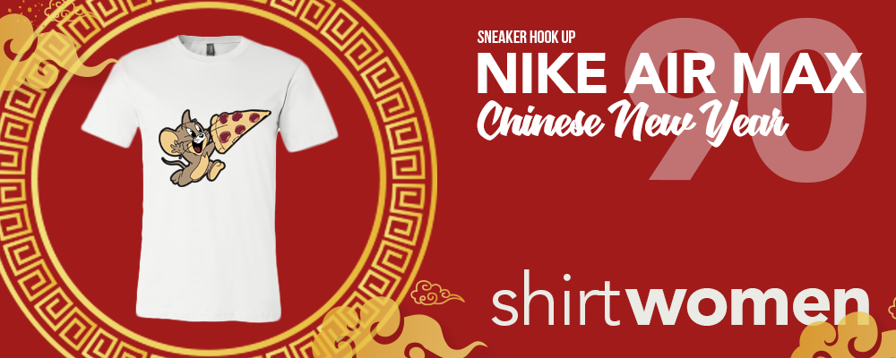 Nike Air Max 90 Chinese New Year 2020 Sneaker Hook Up Women's T-Shirts