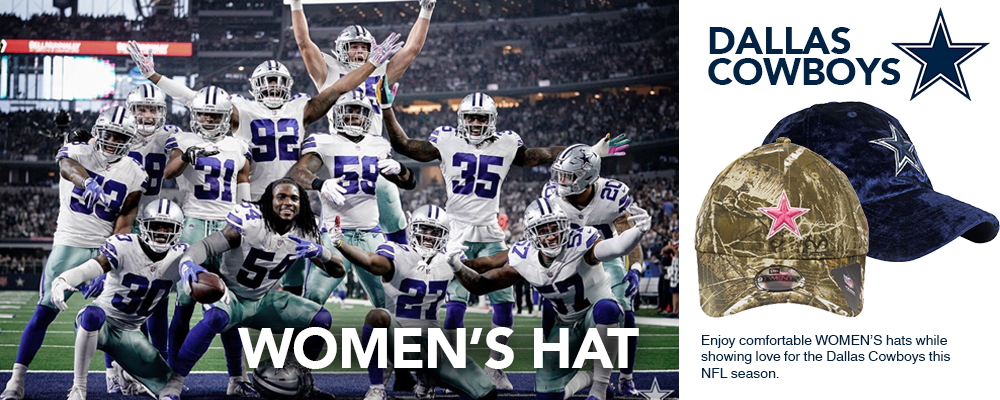 Dallas Cowboys Women's Hats