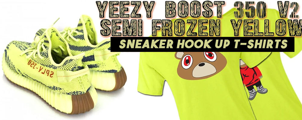 T-Shirts To Match Yeezy Boost 350 V2 Frozen Yellow Sneakers