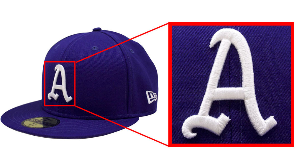 This Philadelphia Athletics hat features 3D Puff Embroidery