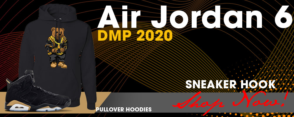 Jordan 6 DMP 2020 Pullover Hoodies to match Sneakers | Hoodies to match Air Jordan 6 DMP 2020 Shoes