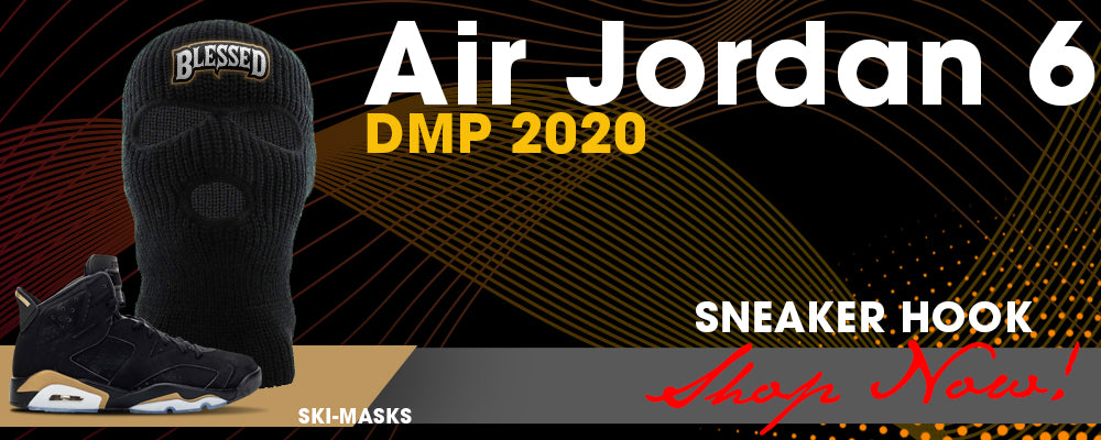 Jordan 6 DMP 2020 Ski Masks to match Sneakers | Winter Masks to match Air Jordan 6 DMP 2020 Shoes