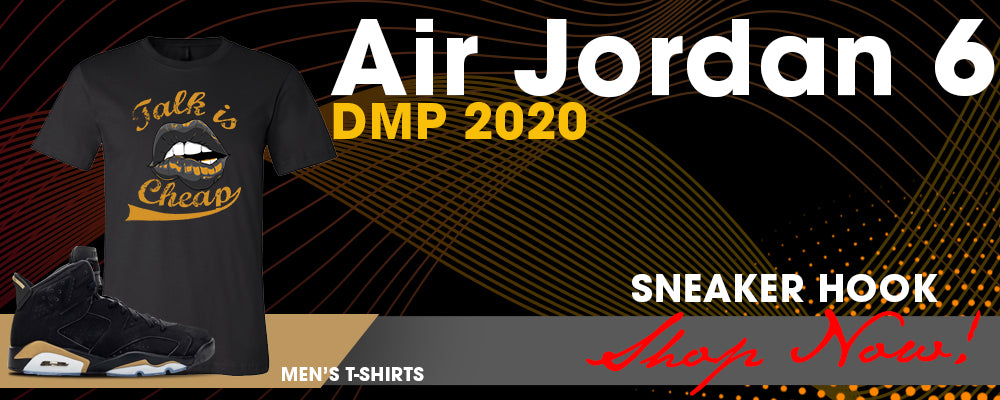 Jordan 6 DMP 2020 T Shirts to match Sneakers | Tees to match Air Jordan 6 DMP 2020 Shoes