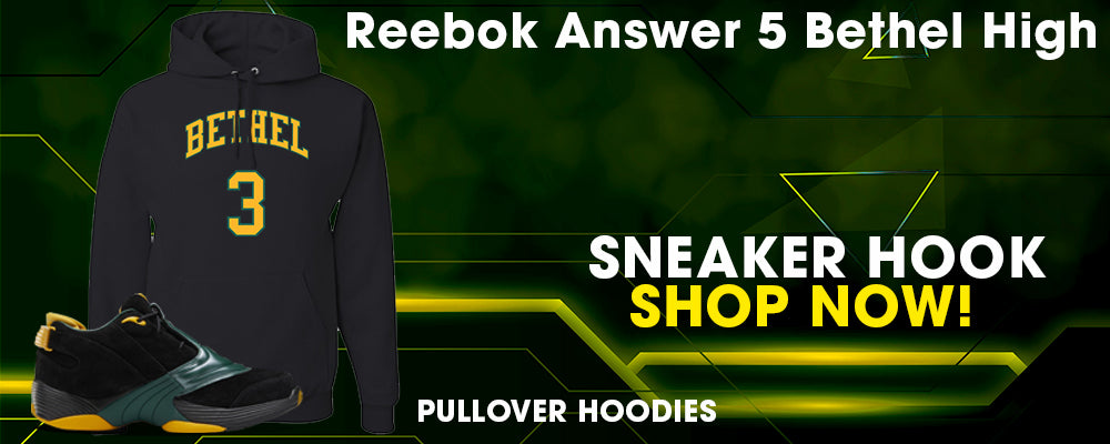 Answer 5 Bethel High Pullover Hoodies to match Sneakers | Hoodies to match Reebok Answer 5 Bethel High Shoes