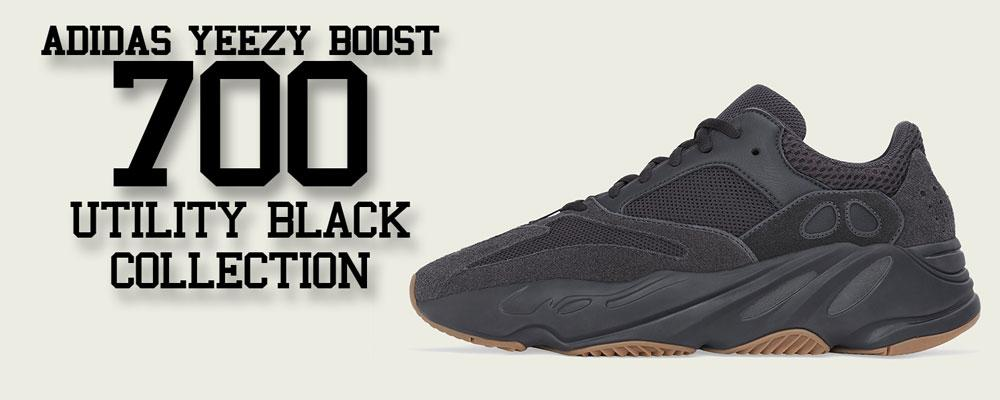 Clothing To Match Yeezy Boost 700 V2 Utility Black Sneakers