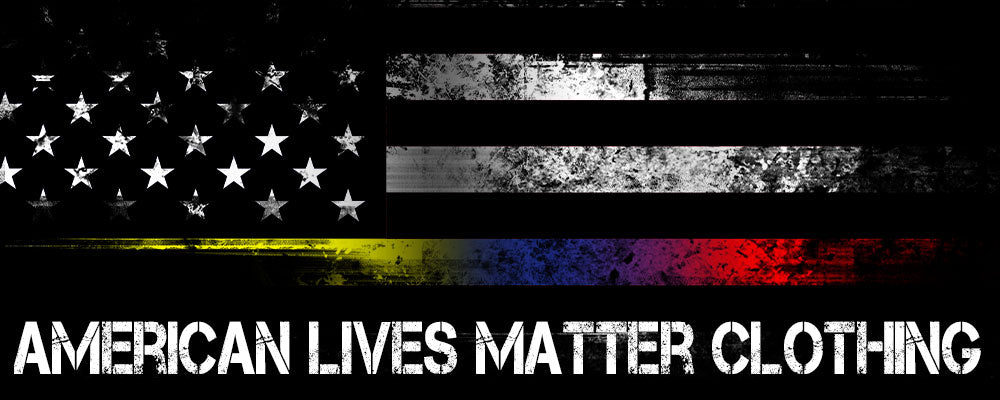 Shop American Lives Matter clothing to show your support for American heroes