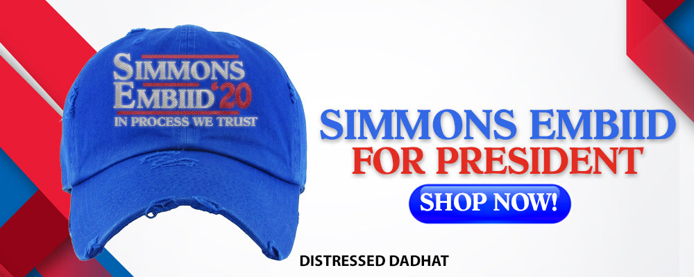 Simmon Embiid For President | Philadelphia Distressed Dad Hats