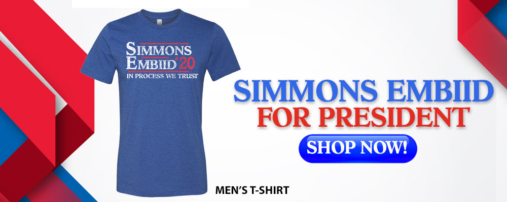 Simmon Embiid For President | Philadelphia T Shirts