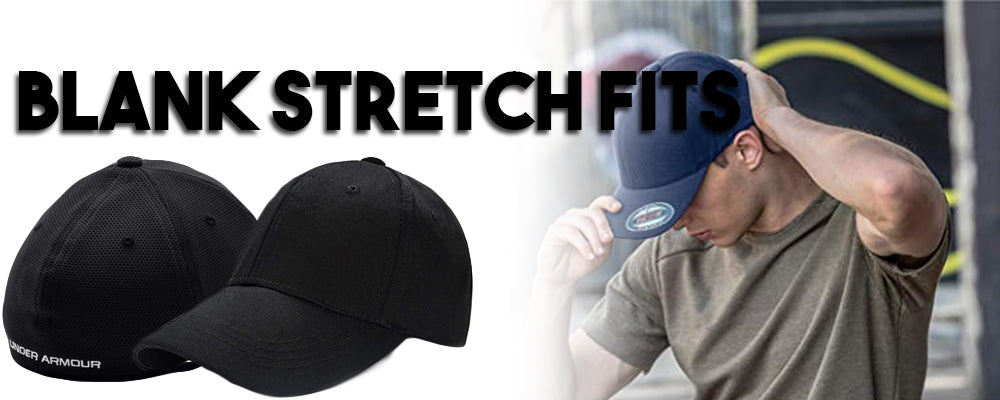 Shop all blank stretch fit caps