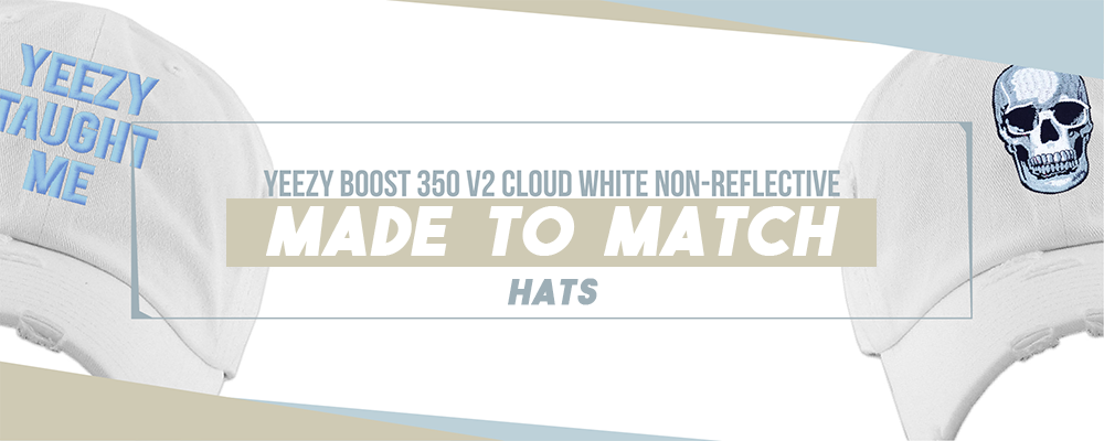 Hats To Match Yeezy Boost 350 V2 Cloud White Sneakers