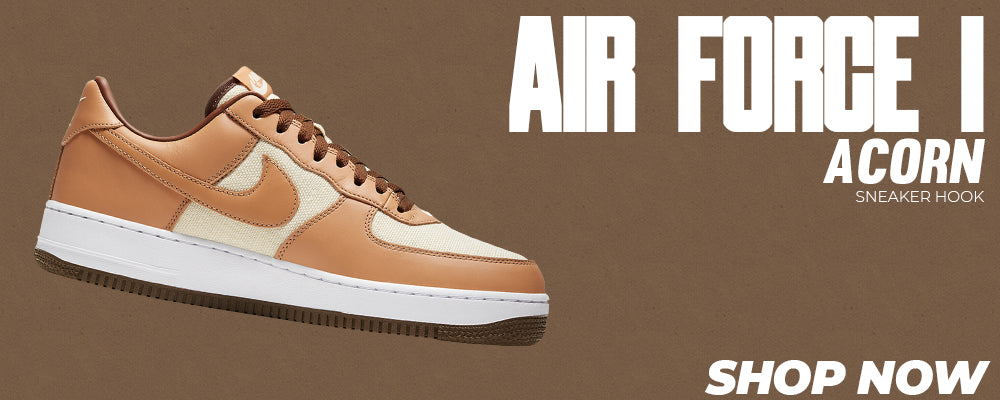 Air Force 1 Acorn Clothing to match Sneakers   Clothing to match Nike Air Force 1 Acorn Shoes