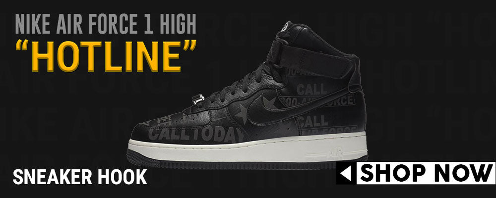 Air Force 1 High Hotline Clothing to match Sneakers | Clothing to match Nike Air Force 1 High Hotline Shoes