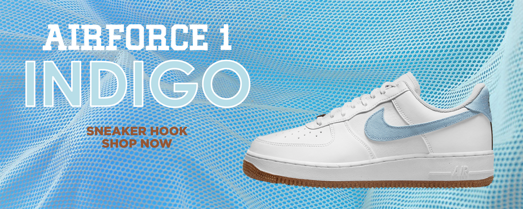 Air Force 1 Indigo Clothing to match Sneakers | Clothing to match Nike Air Force 1 Indigo Shoes