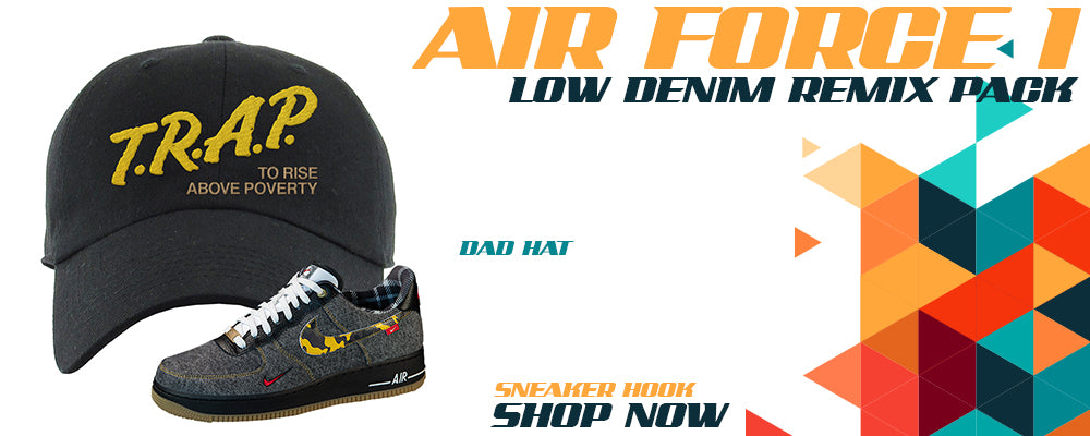Air Force 1 Low Denim Remix Pack Dad Hats to match Sneakers   Hats to match Nike Air Force 1 Low Denim Remix Pack Shoes