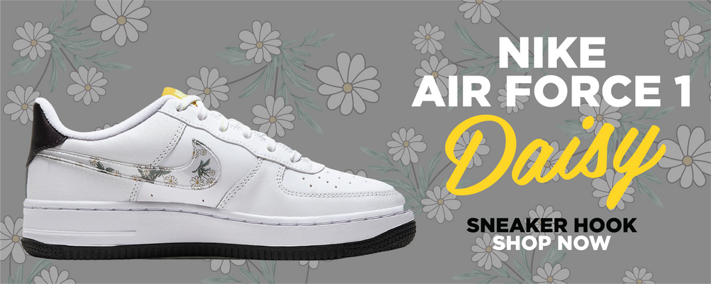 Air Force 1 Low Daisy Clothing to match Sneakers | Clothing to match Nike Air Force 1 Low Daisy Shoes