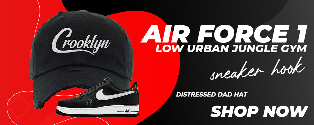 Air Force 1 Low Urban Jungle Gym Distressed Dad Hats to match Sneakers   Hats to match Nike Air Force 1 Low Urban Jungle Gym Shoes