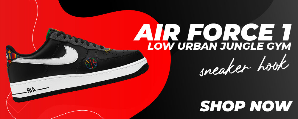 Air Force 1 Low Urban Jungle Gym Clothing to match Sneakers   Clothing to match Nike Air Force 1 Low Urban Jungle Gym Shoes