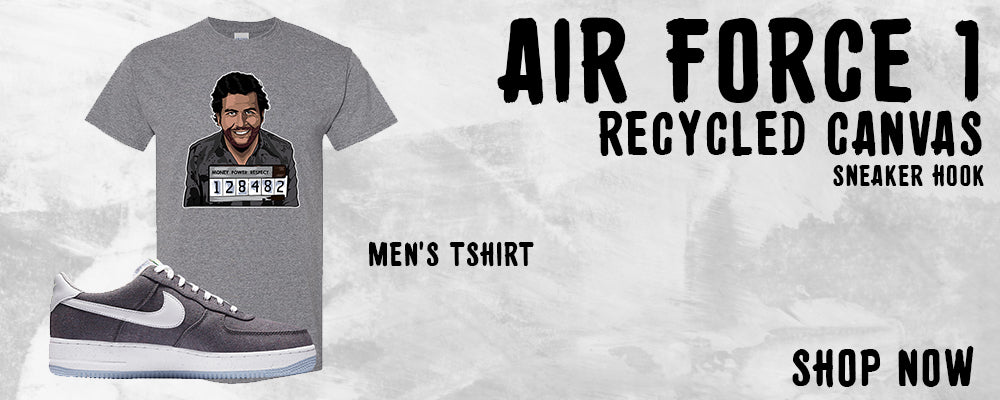 Air Force 1 Low Recycled Canvas T Shirts to match Sneakers | Tees to match Nike Air Force 1 Low Recycled Canvas Shoes