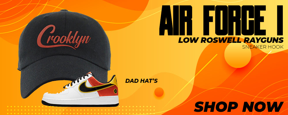 Air Force 1 Low Roswell Rayguns Dad Hats to match Sneakers | Hats to match Nike Air Force 1 Low Roswell Rayguns Shoes