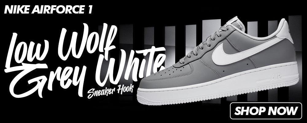 Air Force 1 Low Wolf Grey White Clothing to match Sneakers | Clothing to match Nike Air Force 1 Low Wolf Grey White Shoes