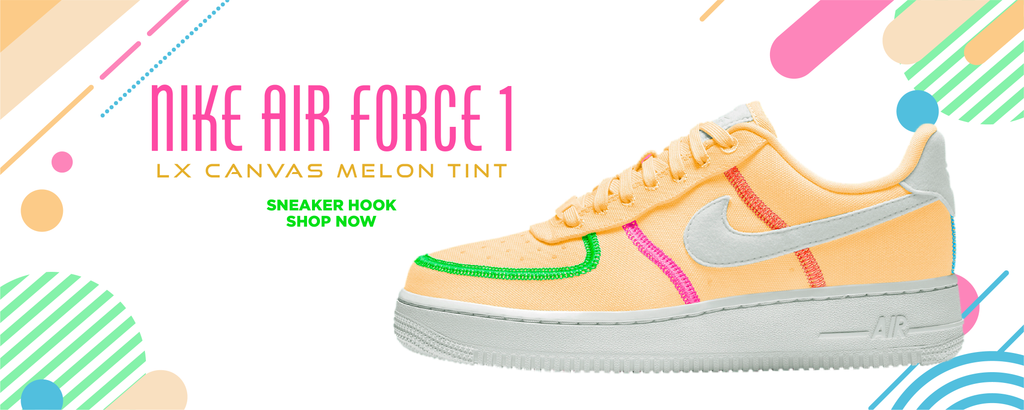 Air Force 1 LX Canvas Melon Tint Clothing to match Sneakers | Clothing to match Nike Air Force 1 LX Canvas Melon Tint Shoes