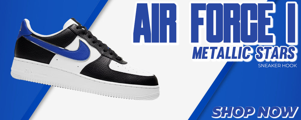 Air Force 1 Metallic Stars Clothing to match Sneakers | Clothing to match Nike Air Force 1 Metallic Stars Shoes