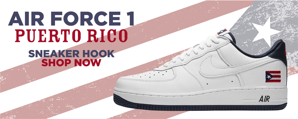 Air Force 1 Puerto Rico Clothing to match Sneakers | Clothing to match Nike Air Force 1 Puerto Rico Shoes