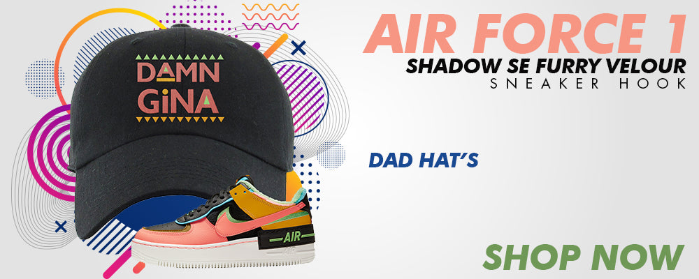 Air Force 1 Shadow SE Furry Velour Dad Hats to match Sneakers | Hats to match Nike Air Force 1 Shadow SE Furry Velour Shoes