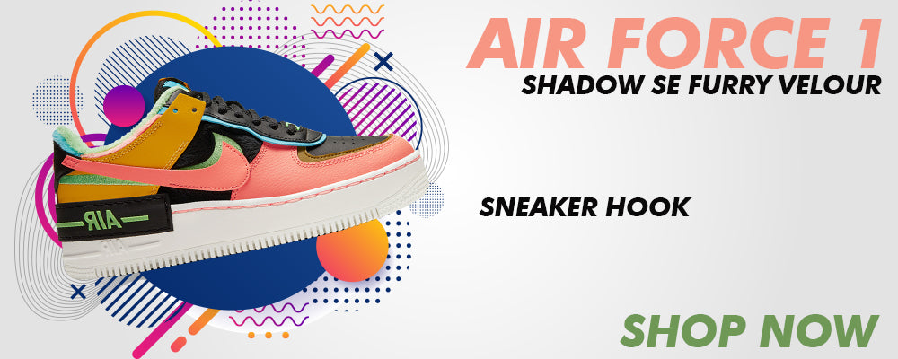 Air Force 1 Shadow SE Furry Velour Clothing to match Sneakers | Clothing to match Nike Air Force 1 Shadow SE Furry Velour Shoes