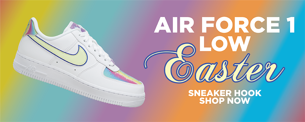 Air Force 1 Low Easter Clothing to match Sneakers | Clothing to match Nike Air Force 1 Low Easter Shoes