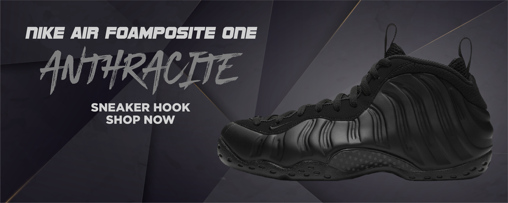 Air Foamposite One Anthracite Clothing to match Sneakers | Clothing to match Nike Air Foamposite One Anthracite Shoes