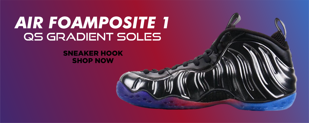 Air Foamposite One QS Gradient Soles Clothing to match Sneakers | Clothing to match Nike Air Foamposite One QS Gradient Soles Shoes