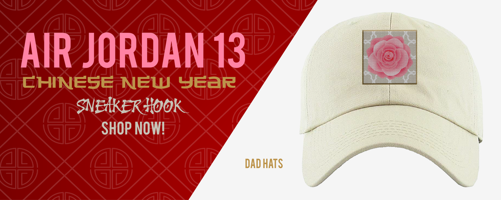 Dad Hats Made to Match Air Jordan 13 Chinese New Year Sneakers