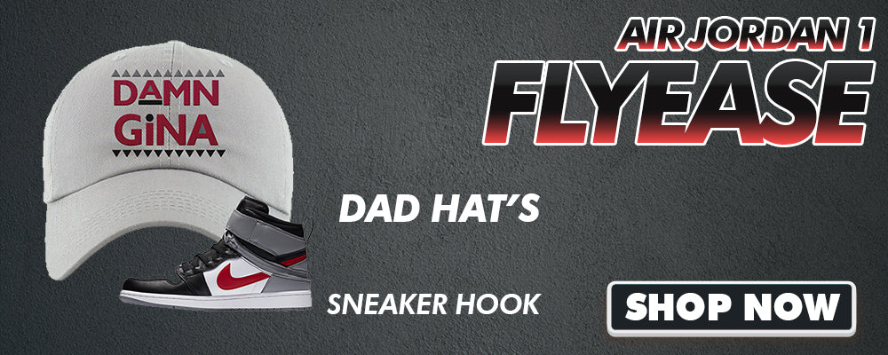 Air Jordan 1 Flyease Dad Hats to match Sneakers | Hats to match Nike Air Jordan 1 Flyease Shoes