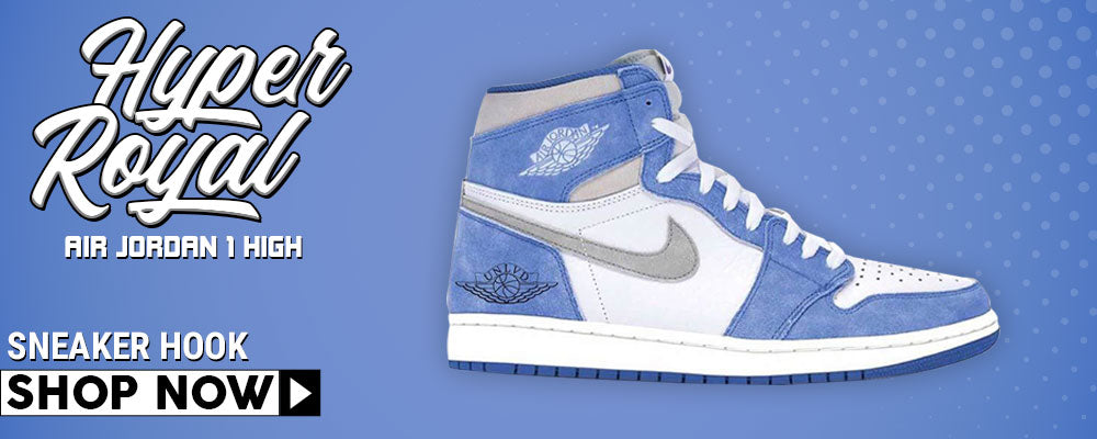 Air Jordan 1 High Hyper Royal Clothing to match Sneakers | Clothing to match Nike Air Jordan 1 High Hyper Royal Shoes