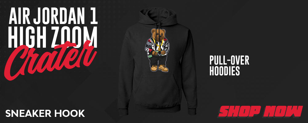 Air Jordan 1 High Zoom Crater Pullover Hoodies to match Sneakers | Hoodies to match Nike Air Jordan 1 High Zoom Crater Shoes
