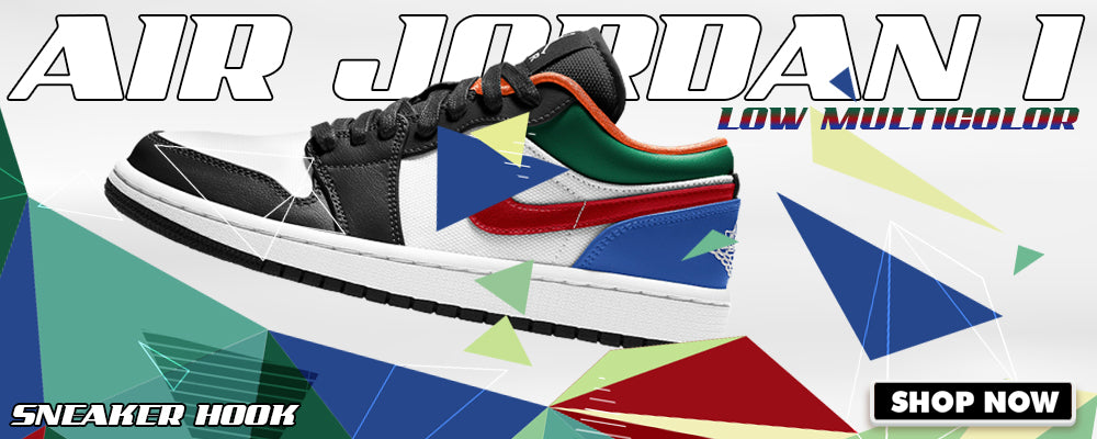 Air Jordan 1 Low 'Multi-Color' Clothing to match Sneakers | Clothing to match Nike Air Jordan 1 Low 'Multi-Color' Shoes